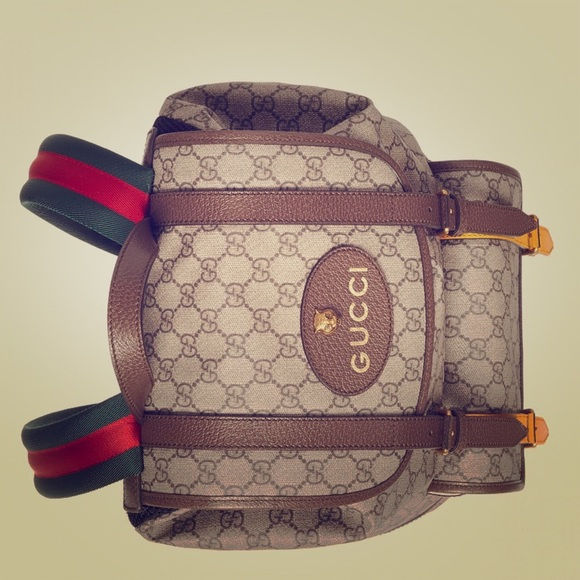 ba3fe2dc1ad Authentic Gucci Soft GG Supreme Backpack (Unisex)